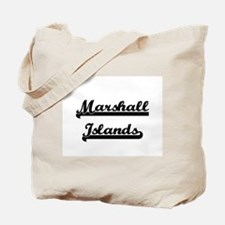 Marshall Islands Classic Retro Design Tote Bag