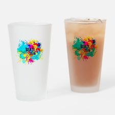 Brazil 2016 Burst Drinking Glass