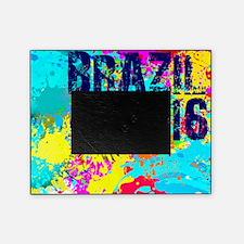 Brazil 2016 Burst Picture Frame