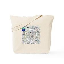 London/Paris Tote Bag