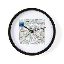 Paris metro Clock