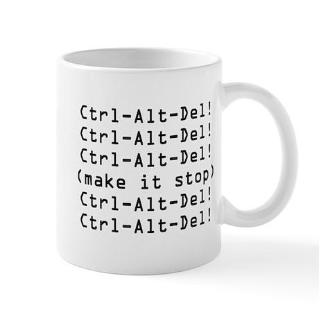 Ctrl-Alt-Del Mug