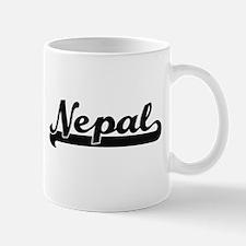 Nepal Classic Retro Design Mugs