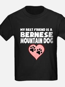 My Best Friend Is A Bernese Mountain Dog T-Shirt