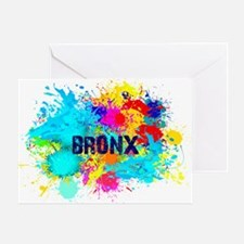 BRONX BURST Greeting Card
