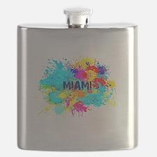 MIAMI BURST Flask