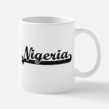 Nigeria Classic Retro Design Mugs