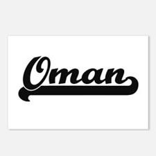 Oman Classic Retro Design Postcards (Package of 8)