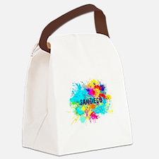 SAN DIEGO BURST Canvas Lunch Bag