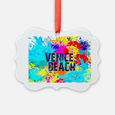 VENICE BEACH BURST Ornament