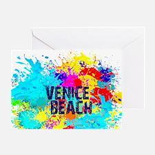 VENICE BEACH BURST Greeting Card
