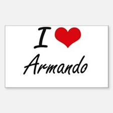 I Love Armando Decal