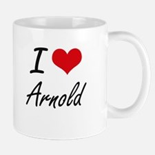 I Love Arnold Mugs