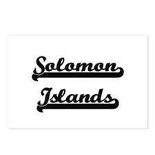 Solomon Islands Classic R Postcards (Package of 8)