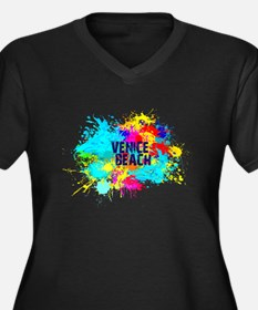 VENICE BEACH BURST Plus Size T-Shirt