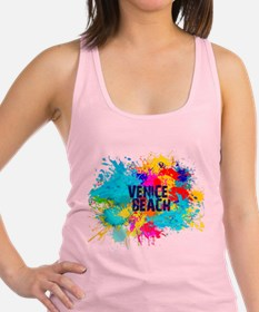 VENICE BEACH BURST Racerback Tank Top