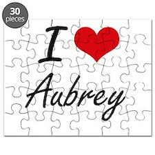 I Love Aubrey Puzzle
