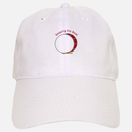 Keeping The Beat Baseball Baseball Baseball Cap