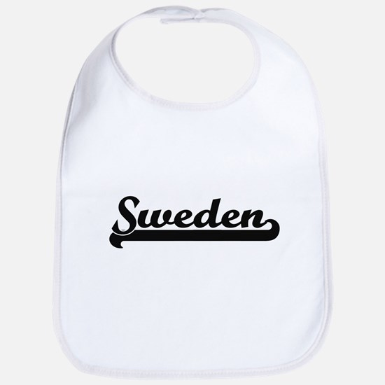 Sweden Classic Retro Design Bib