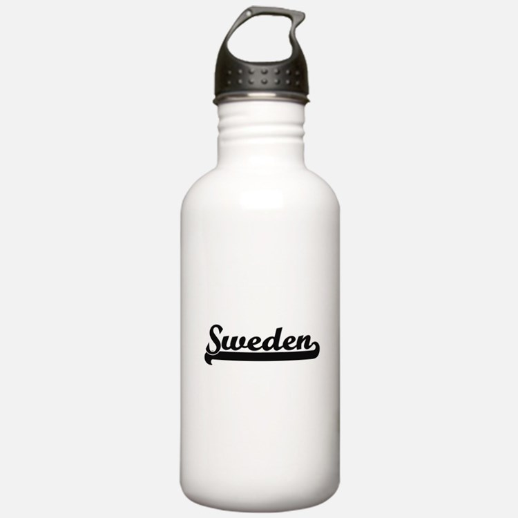 Sweden Classic Retro D Water Bottle