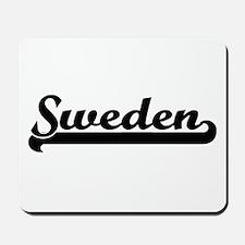 Sweden Classic Retro Design Mousepad