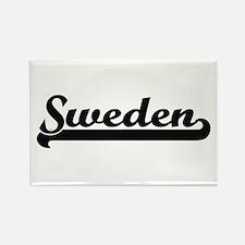 Sweden Classic Retro Design Magnets