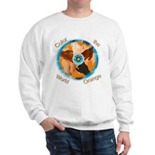 Color the World Orange CRPS Awareness I Sweatshirt