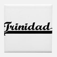 Trinidad Classic Retro Design Tile Coaster