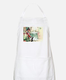 Pin up Girl In Kitchen Apron