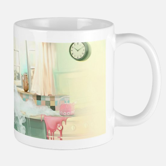 Pin up Girl In Kitchen Mugs