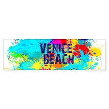VENICE BEACH BURST Bumper Bumper Bumper Sticker