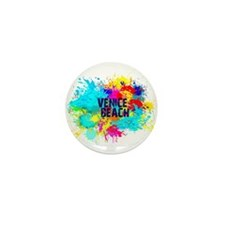 VENICE BEACH BURST Mini Button