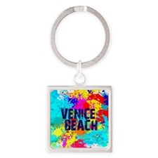 VENICE BEACH BURST Keychains