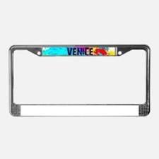 VENICE BEACH BURST License Plate Frame