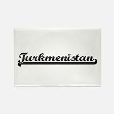 Turkmenistan Classic Retro Design Magnets