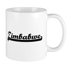 Zimbabwe Classic Retro Design Mugs
