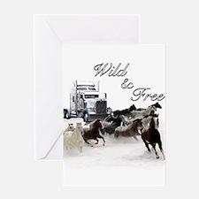 Wild & Free Greeting Card