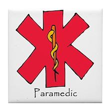 Paramedic Medical Symbol Tile Coaster