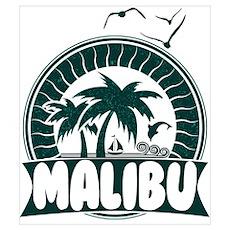 Malibu California Poster