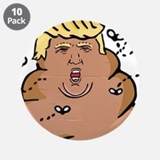 "anti donald trump for president 2016 3.5"" Button ("
