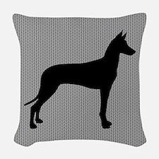 Pharaoh Hound Woven Throw Pillow
