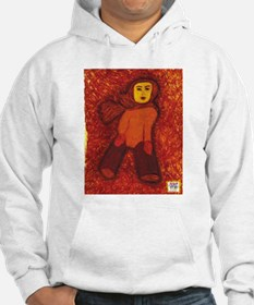 Girl with no feet Hoodie