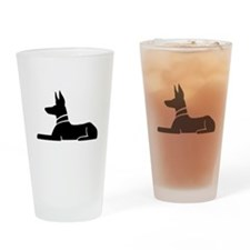 Pharaoh Hound Drinking Glass