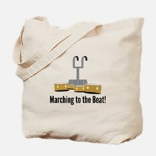 Marching Beat Tote Bag