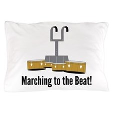 Marching Beat Pillow Case