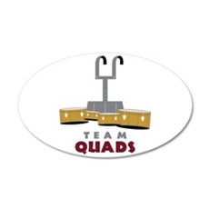 Team Quads Wall Decal