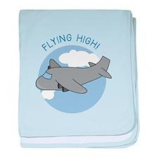 Flying High baby blanket