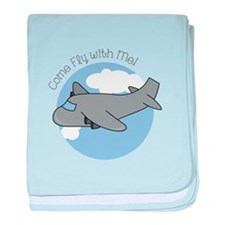 Fly With Me baby blanket