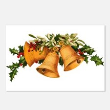 Christmas Bells Postcards (Package of 8)