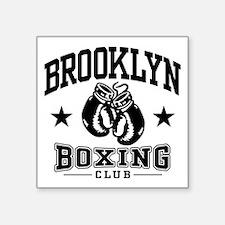 "Cute Brooklyn ny Square Sticker 3"" x 3"""